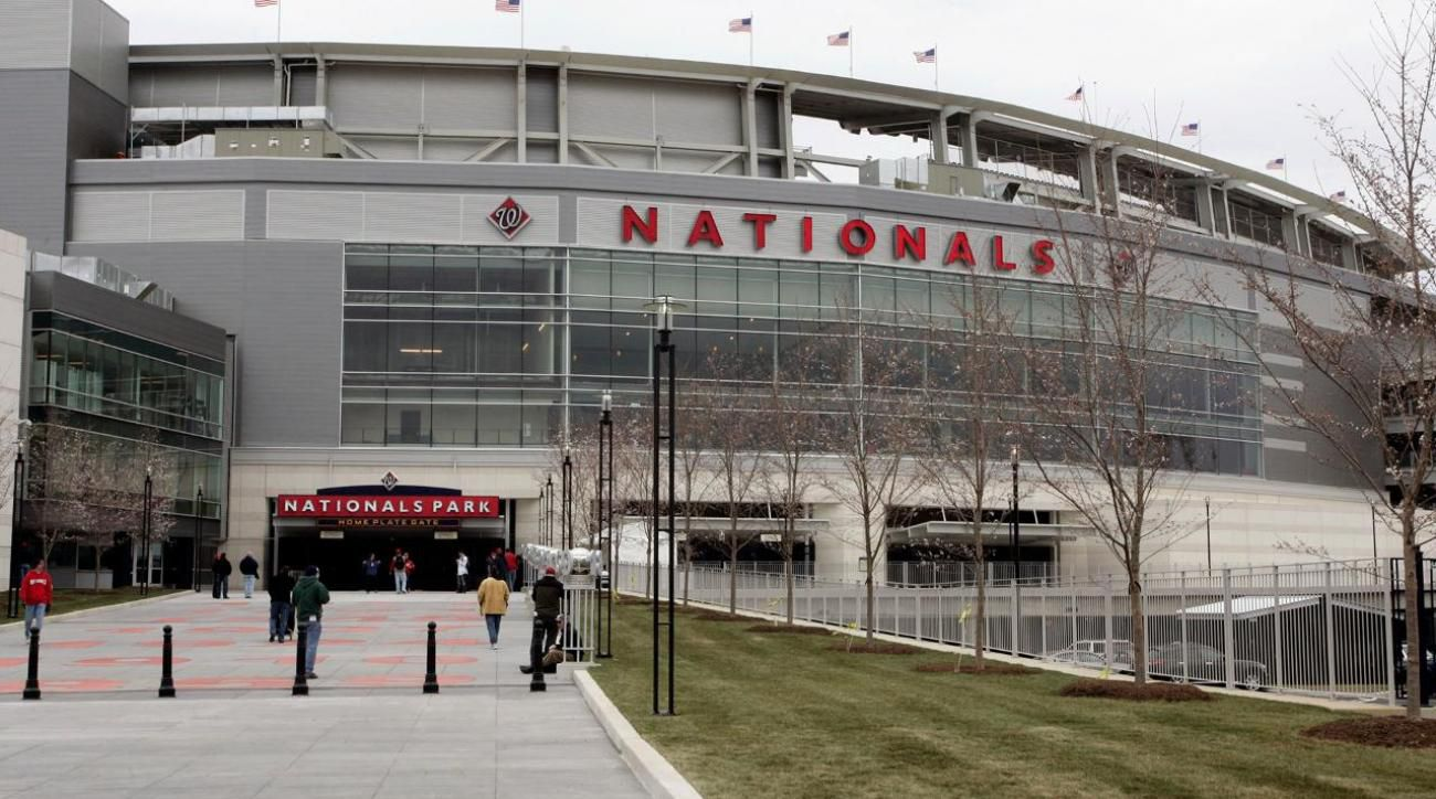 Does this look like a baseball stadium to you? Nationals Park in Washington, D.C.
