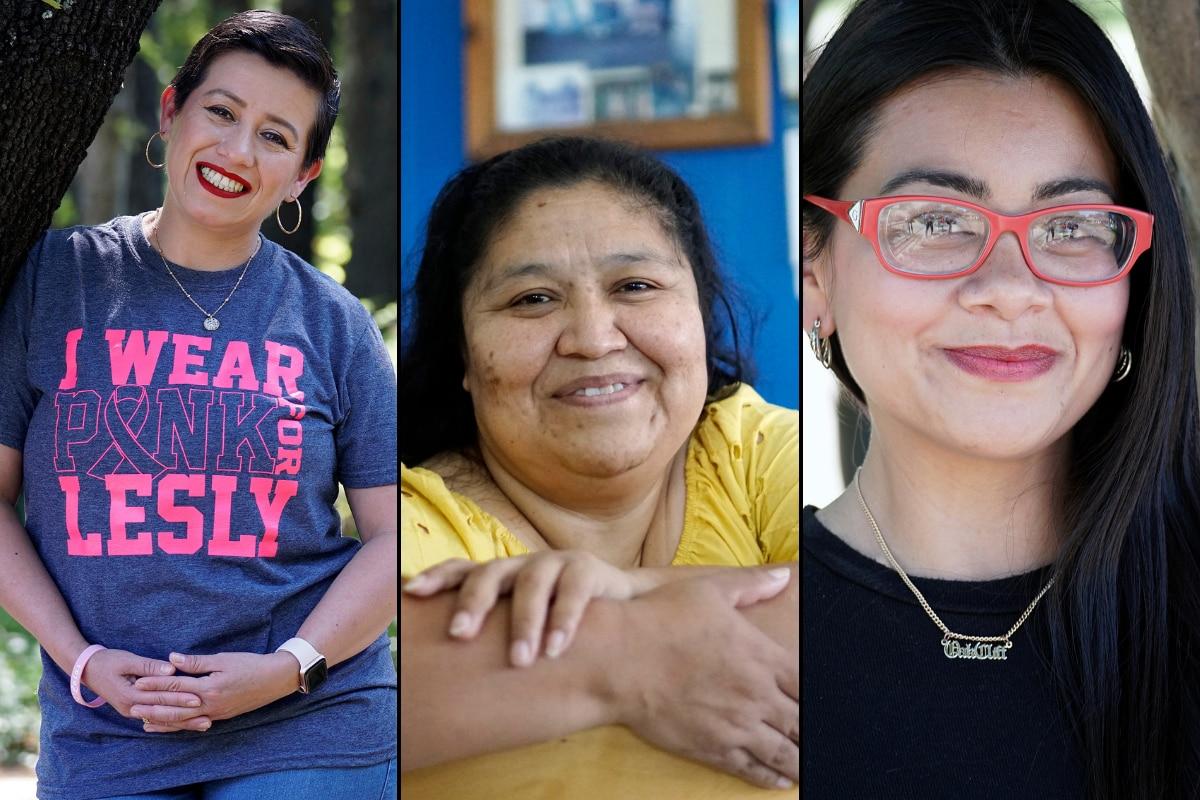 Lesly Cardona, Susana García y Leslie Marie Armijo, son tres mujeres activistas en Dallas que combinan su actividad con la crianza de su familia.