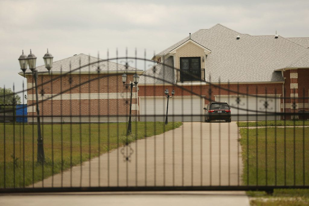 380 Ingram Lane in Allen, Texas April 12, 2018. A former Lucas City Council member hanged himself and his daughter was strangled, Collin County officials said after their bodies were found Sunday April 8. Donald Zriny, 58, died from suicide by hanging, the medical examiner's office said. His daughter, Amanda Zriny, 26, died from homicide by strangulation. (Andy Jacobsohn/The Dallas Morning News)