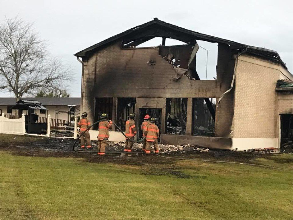 In February, investigators ruled that the fire at the Victoria Islamic Center Mosque was intentional.