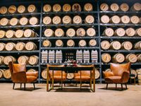 Blackland Distillery opened in March 2019 and serves as an upscale cocktail lounge, and distillery.