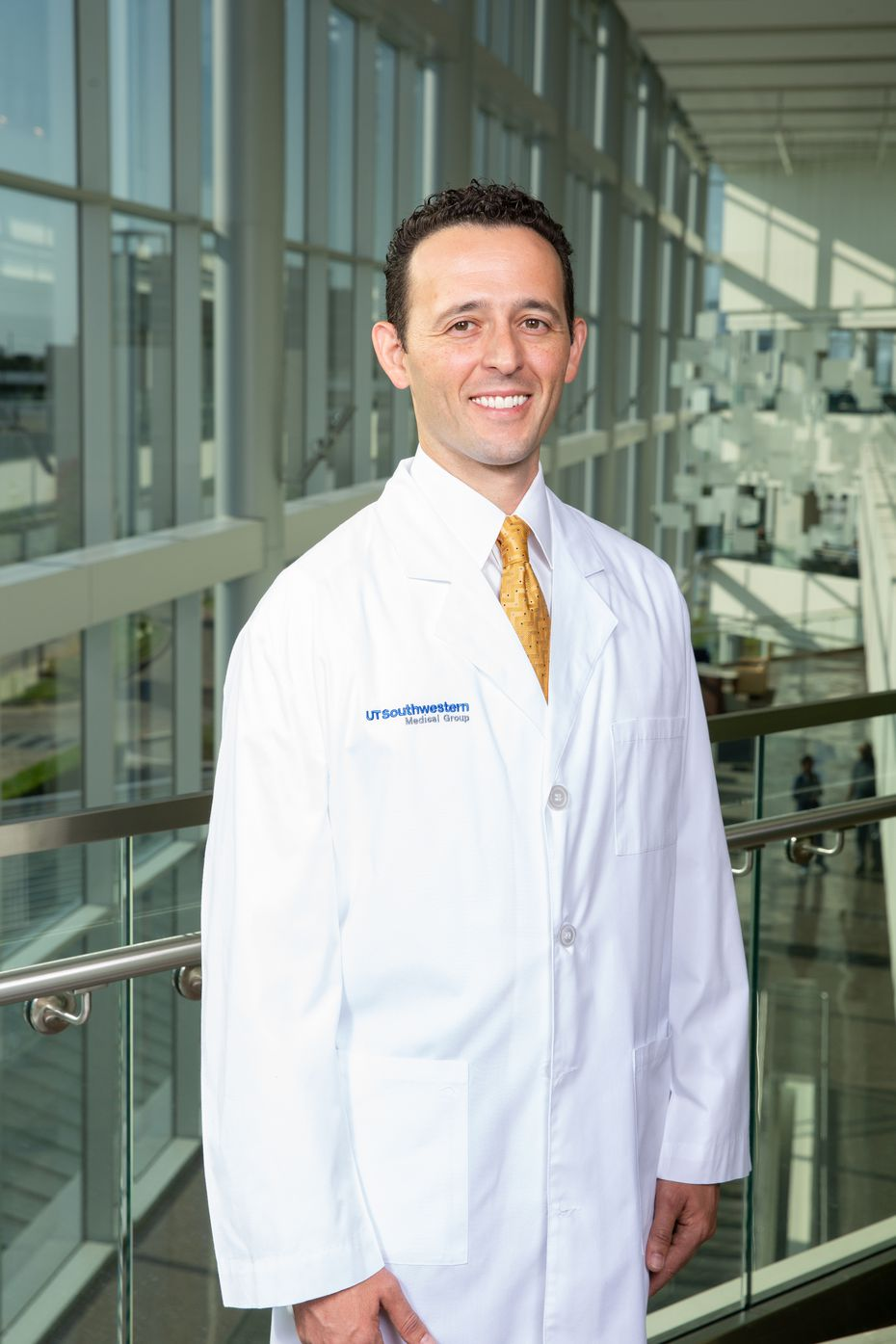 Dr. Juan Cabrera is the head of the Frisco branch of UT Southwestern's COVID Recover clinic. He was also one of Jim Doyle's doctors who helped him through his recovery. (UT Southwestern)