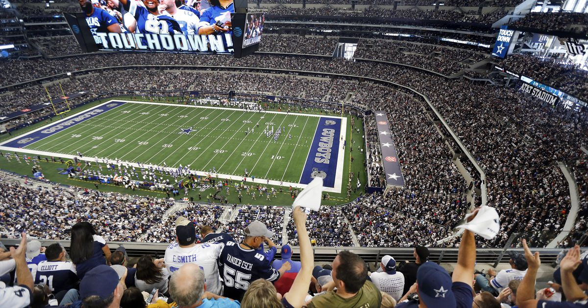 Dallas Cowboys reveal AT&T Stadium policies for 2020 season, including mask requirements and seating 'pods'