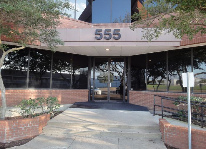The 555 Republic office building was built in 1984.