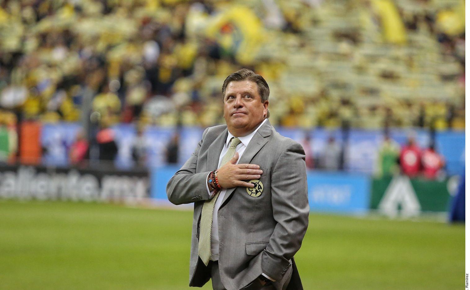 Miguel 'Piojo' Herrera sigue como técnico del América pese a perder la final ante los Rayados en el Apertura MX 2019.