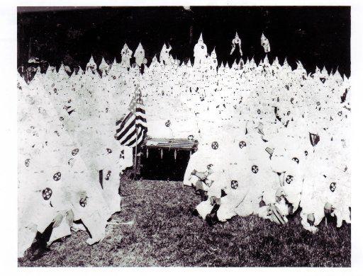 Ku Klux Klan meeting, 1923