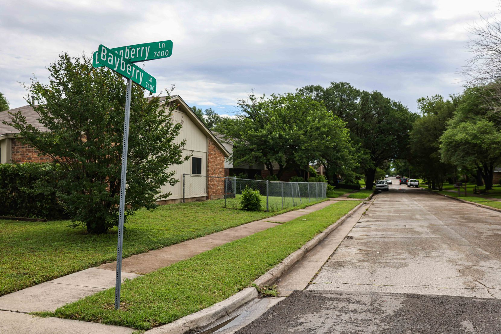 The suspect arrested in connection with the death of a 4-year-old Cash Gernon lives lives half a mile from where the boy's body was found Saturday morning in Dallas. Photo taken on Monday, May 17, 2021.