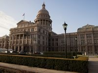 The Texas Capitol in Austin on Wednesday, March 17, 2021. (Juan Figueroa/ The Dallas Morning News)