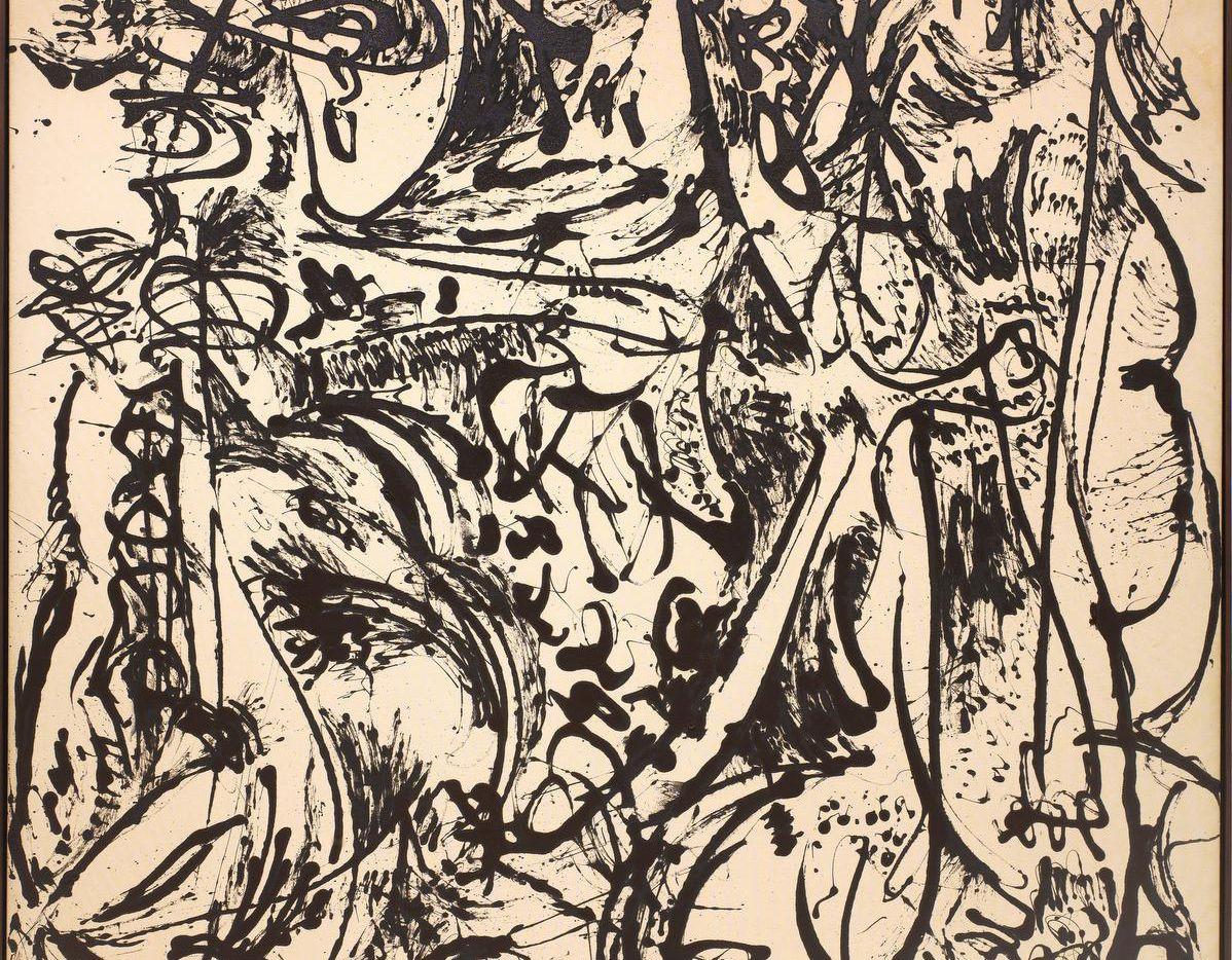 Jackson Pollock's Echo: Number 25, from 1951, is Delahunty's favorite Pollock work.