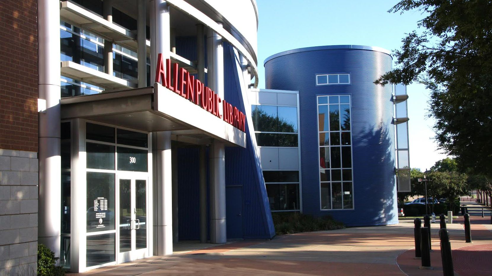 Allen is seeking resident input on a future library expansion project.