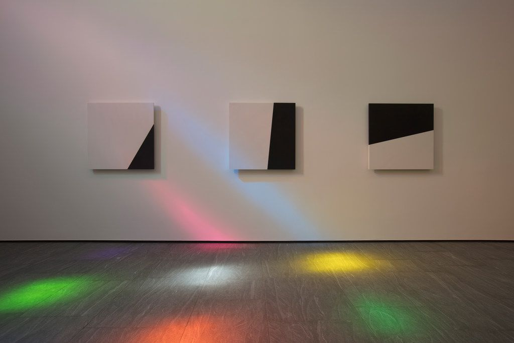 The interior, facing west, of Ellsworth Kelly's Austin'