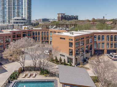 Take a look at the townhouse at 2943 Magnolia Hill Court in Dallas.
