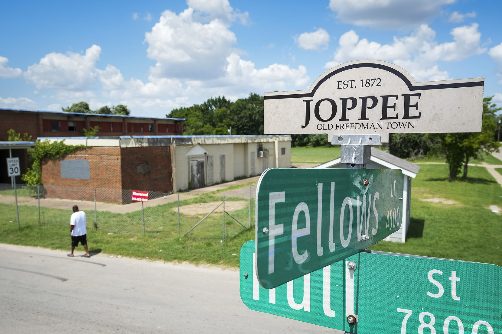 The former Melissa Pierce School in Joppa needs a new roof and significant remodeling inside and out.