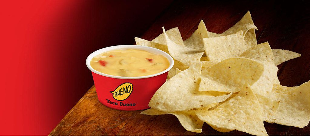 Taco Bueno's new queso recipe is the same one it launched when queso first appeared at the chain restaurant in the late '60s or early '70s.