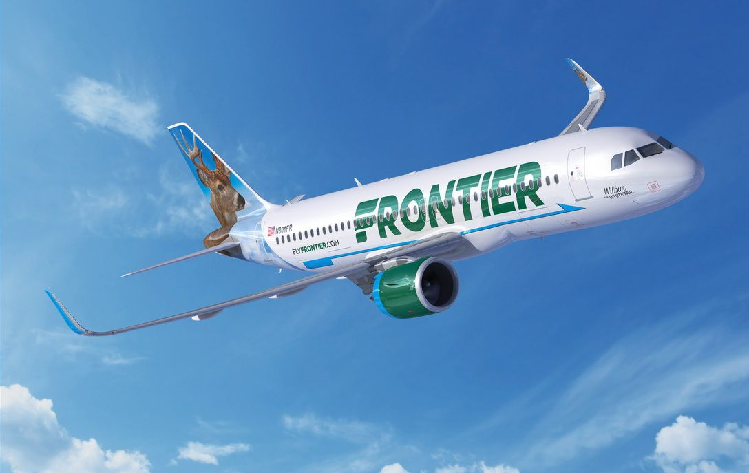 Frontier Airlines is expanding its network with 22 new routes, including service between DFW Airport and popular destinations of Las Vegas and Orlando.