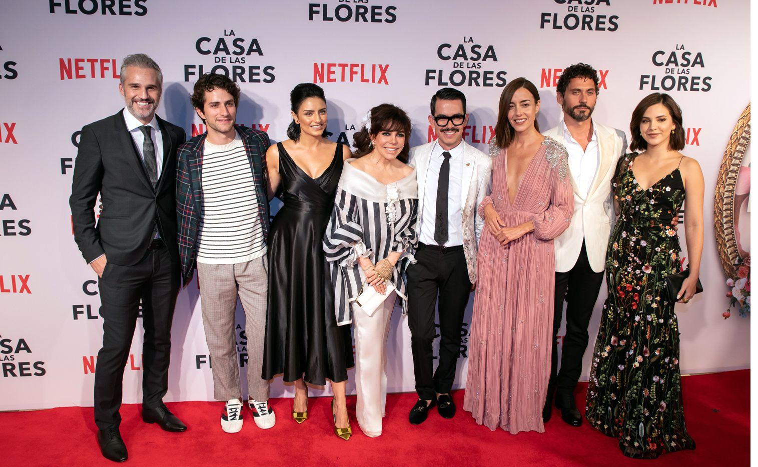 """""""Aquí vamos! Gracias a ustedes La Casa de las Flores 2 -2019- y para sorpresa de todos La Casa de las Flores 3 -2020-"""", tuiteó el director de la serie Manolo Caro./ AGENCIA REFORMA"""