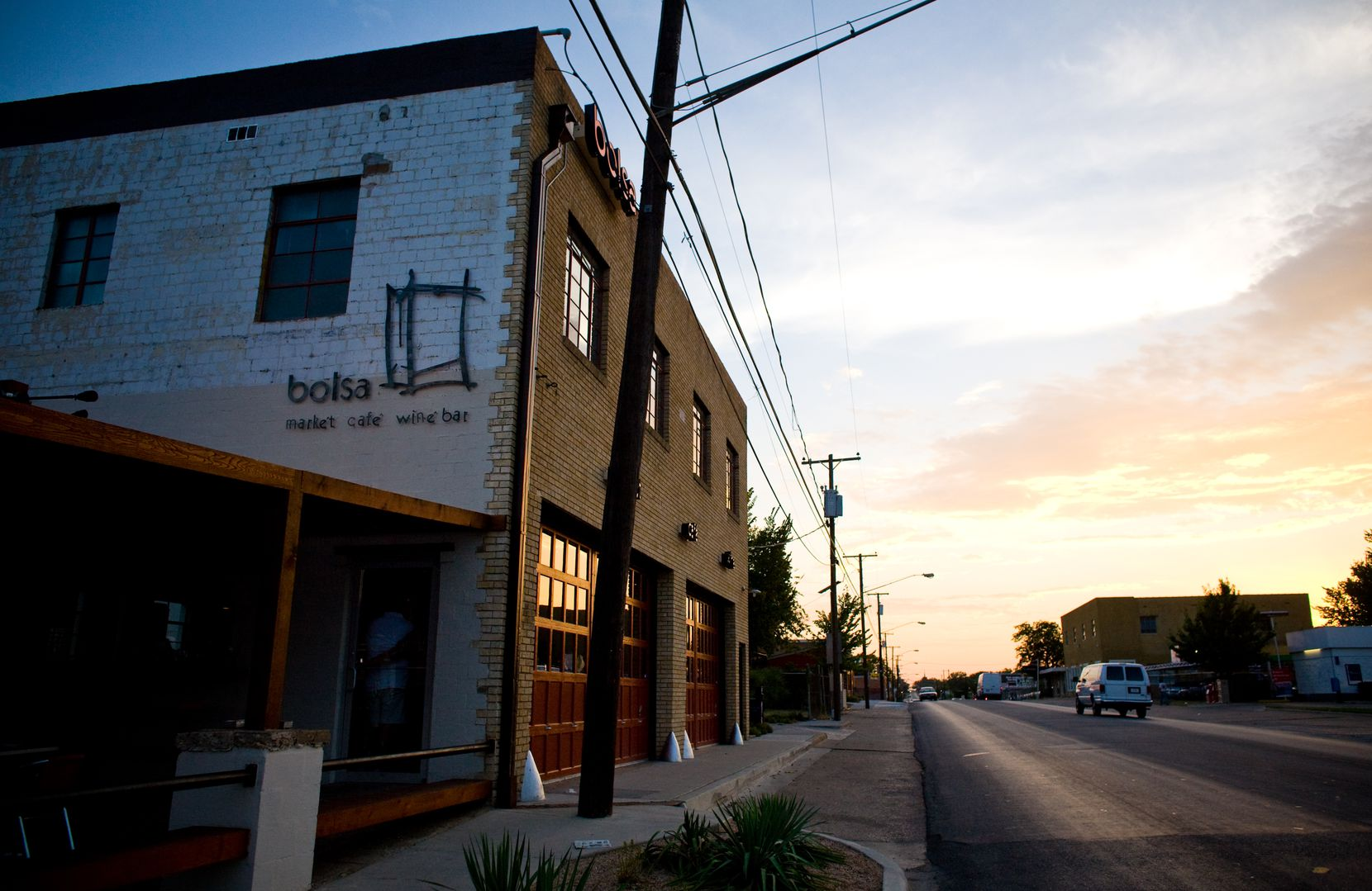 Bolsa wasn't exactly in the Bishop Arts District; it was located on W. Davis Street a few more blocks west.