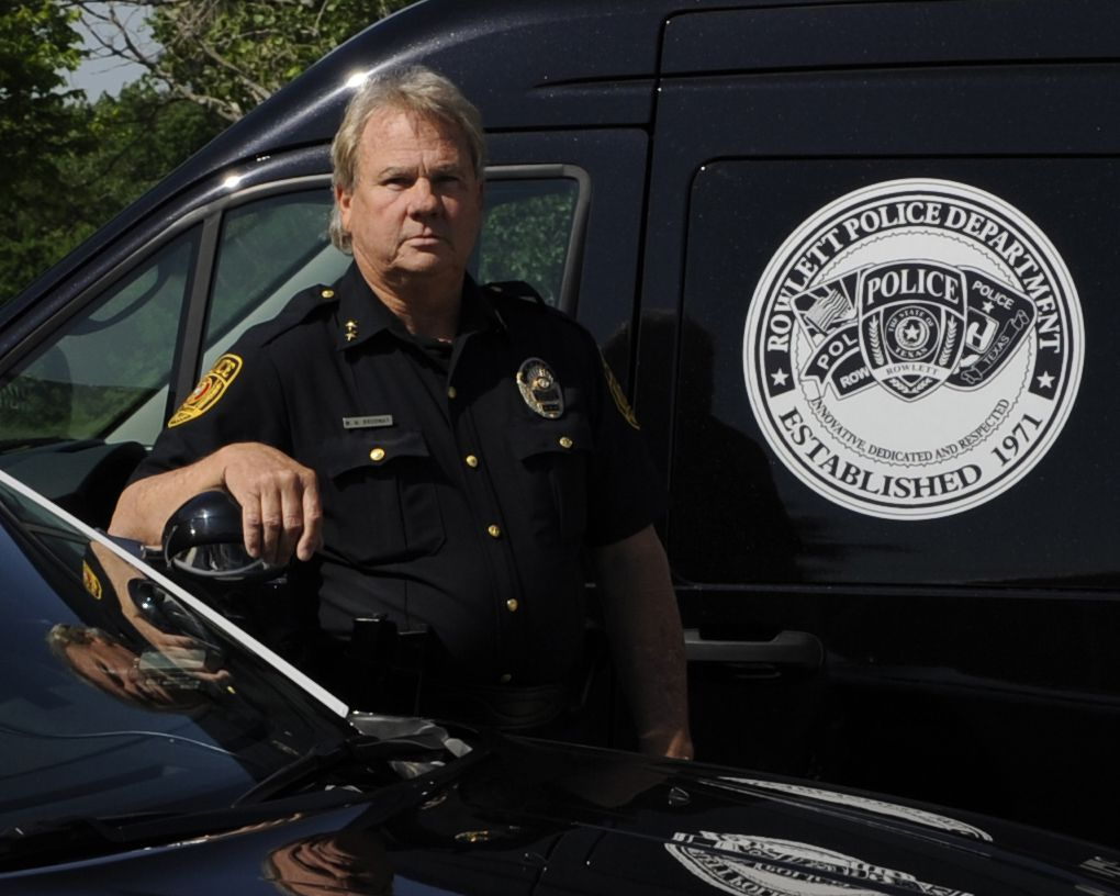 Rowlett Police Chief Mike Broadnax