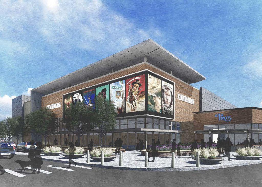 Renderings of proposed plans for Wynnewood Village. Brixmor Property Group has been working with the city of Dallas to begin making improvements to the sprawling shopping center on 65 acres just west of I-35 along S. Zang Blvd. and Illinois Ave.
