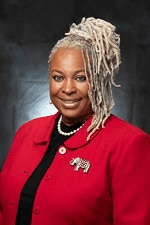 The city council on Monday appointed Angela Richardson-Woods to the District 1 seat left vacant after a recall election last month.