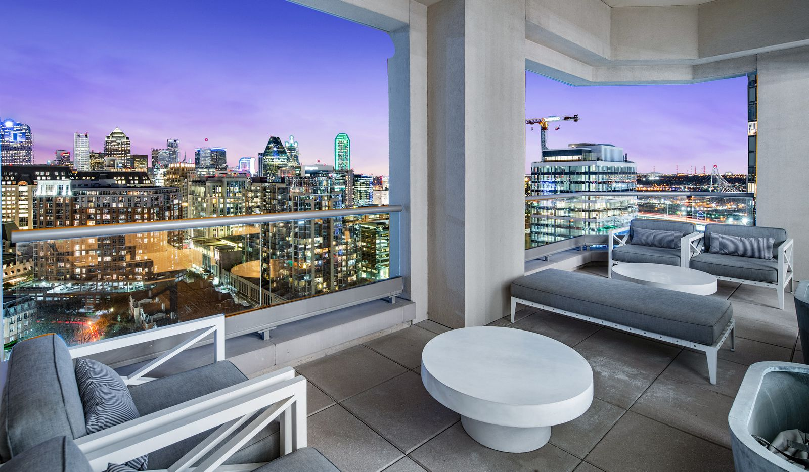 The penthouse at the Stoneleigh, 2300 Wolf, Unit 20