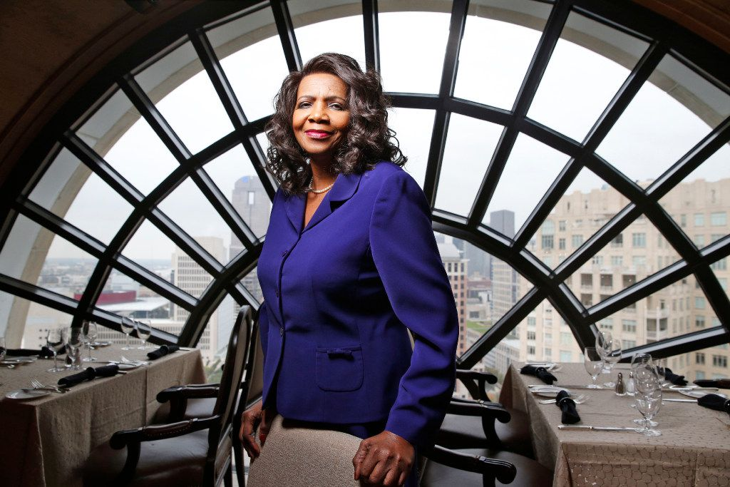 Faith Johnson, the new Dallas district attorney, at the Hotel Crescent Court in Dallas on December 7, 2016.