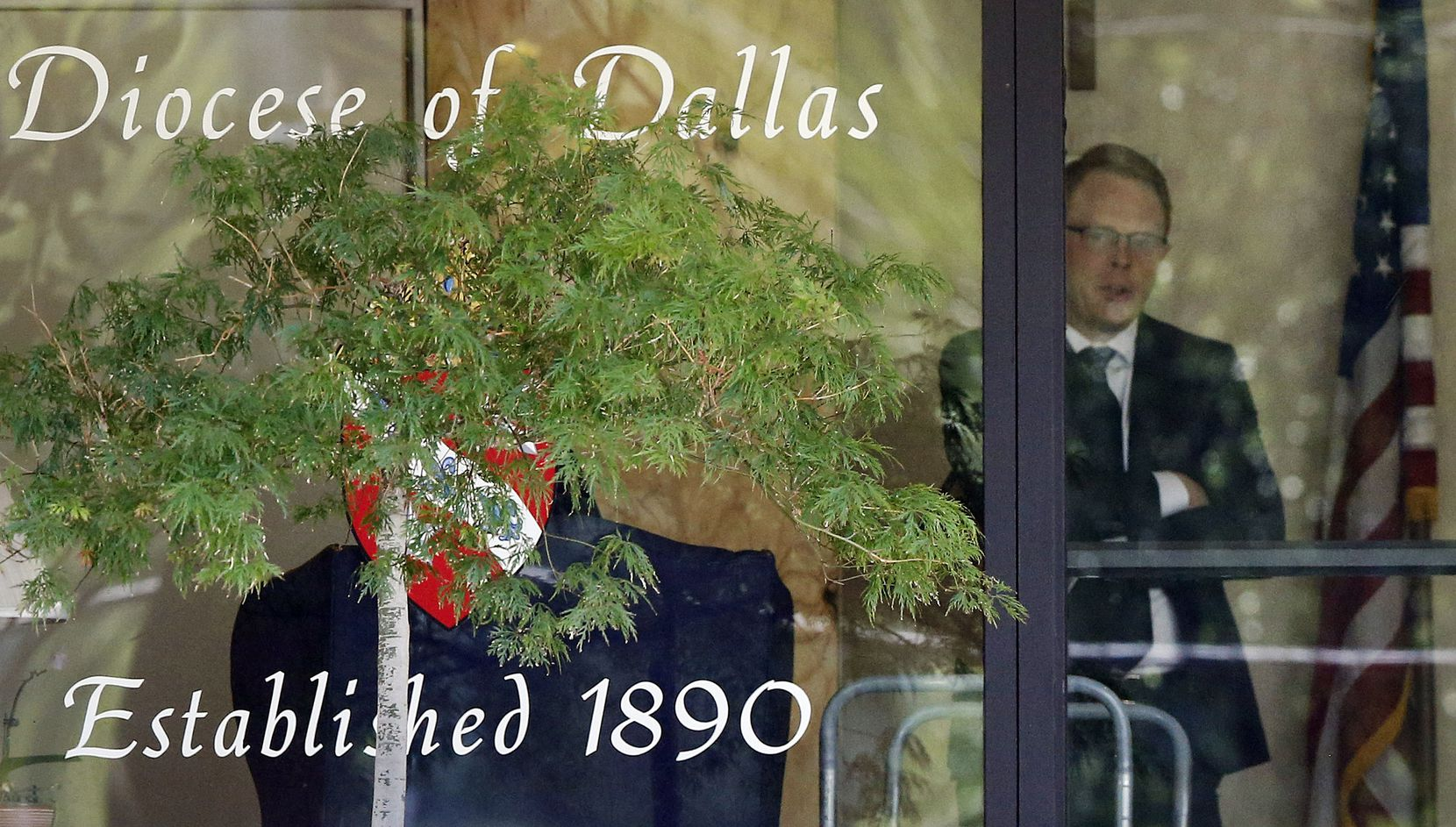 Law enforcement officials raided Catholic Diocese of Dallas offices and facilities Wednesday.