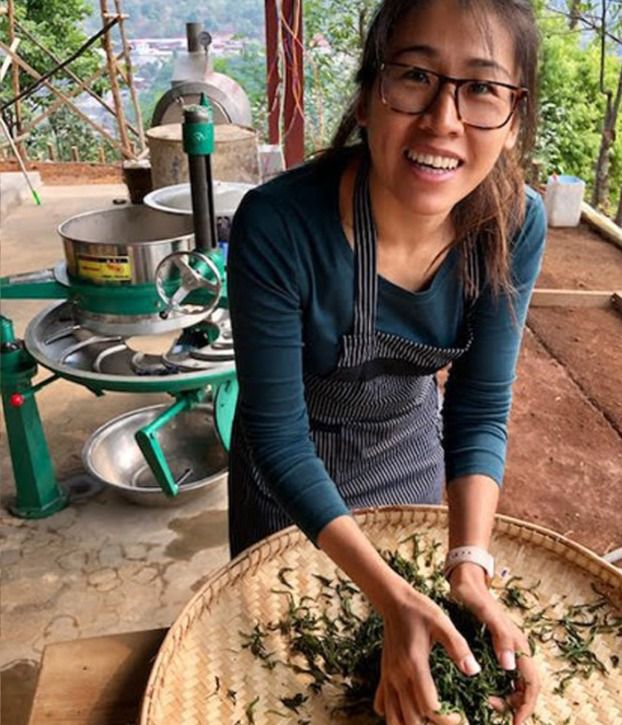 Phyu Thwe is the founder of Mogok Tea in Myanmar.