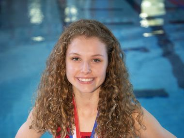 Colleyville Heritage senior Abby Devereaux just took home the UIL state championship in 1-meter diving, for the second year in a row.