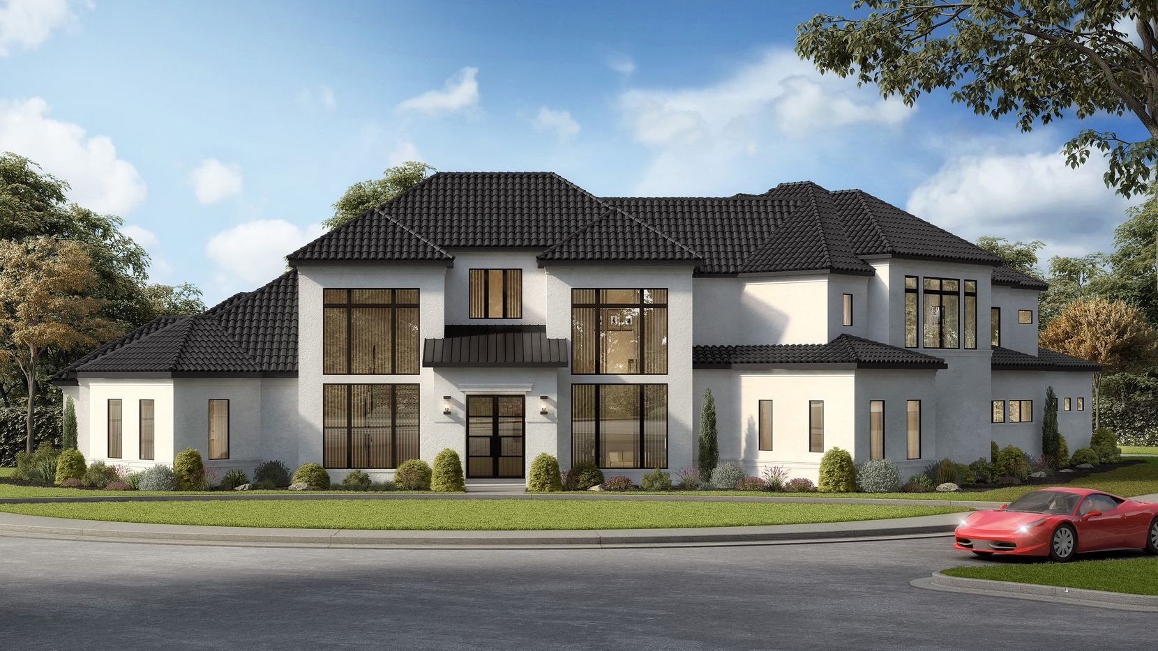 The home design at 2396 Courtland at Hills of Kingswood in Frisco will feature more than 8,000 square feet.