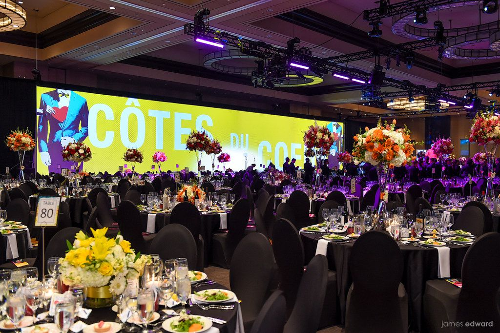 The Cotes du Coeur gala on April 21 at the Omni Dallas Hotel grossed a record $4.7 million for the American Heart Association.