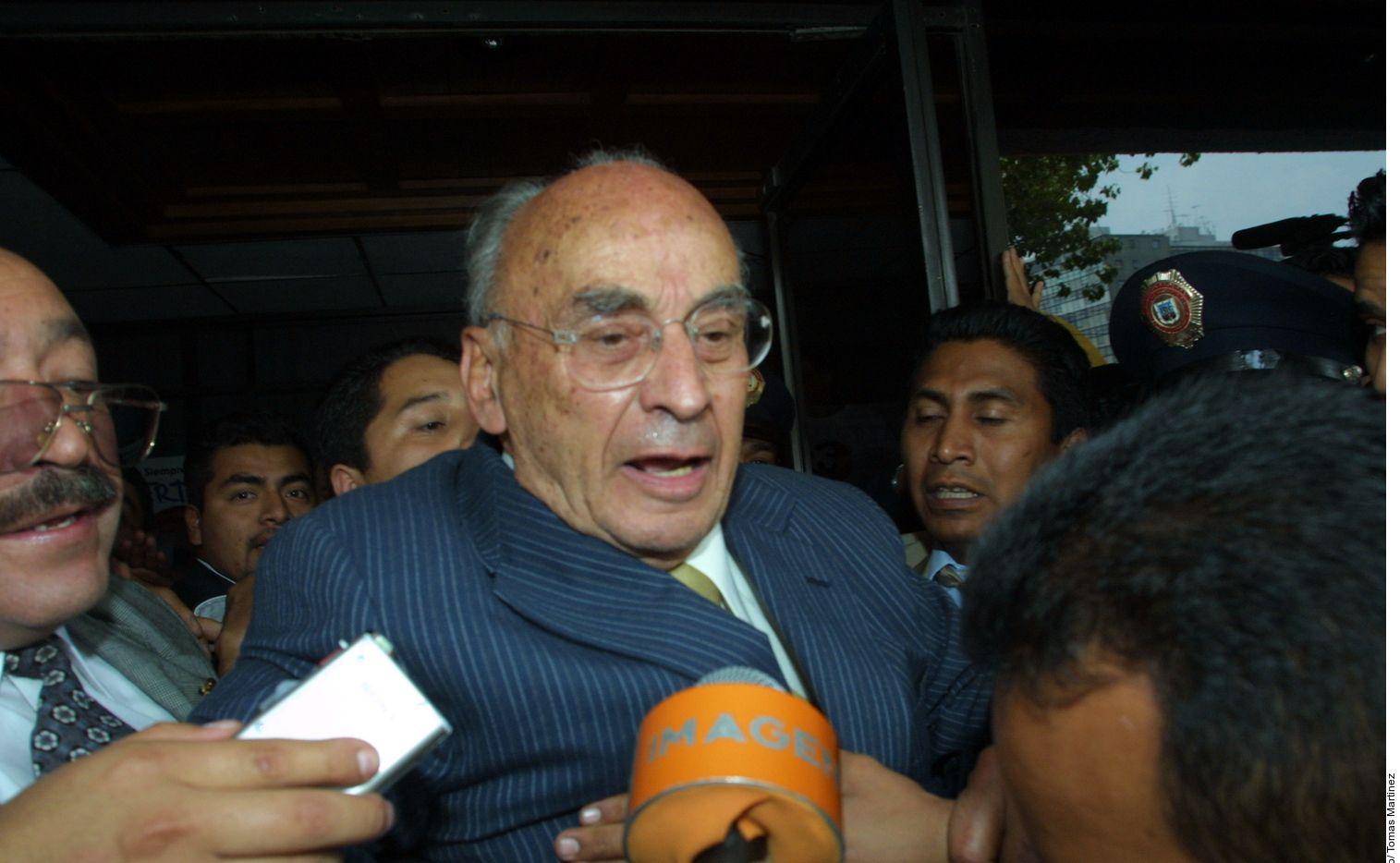 Álvaro Echeverría Zuno, hijo del expresidente de México Luis Echeverría (foto) fue hallado sin vida el martes.