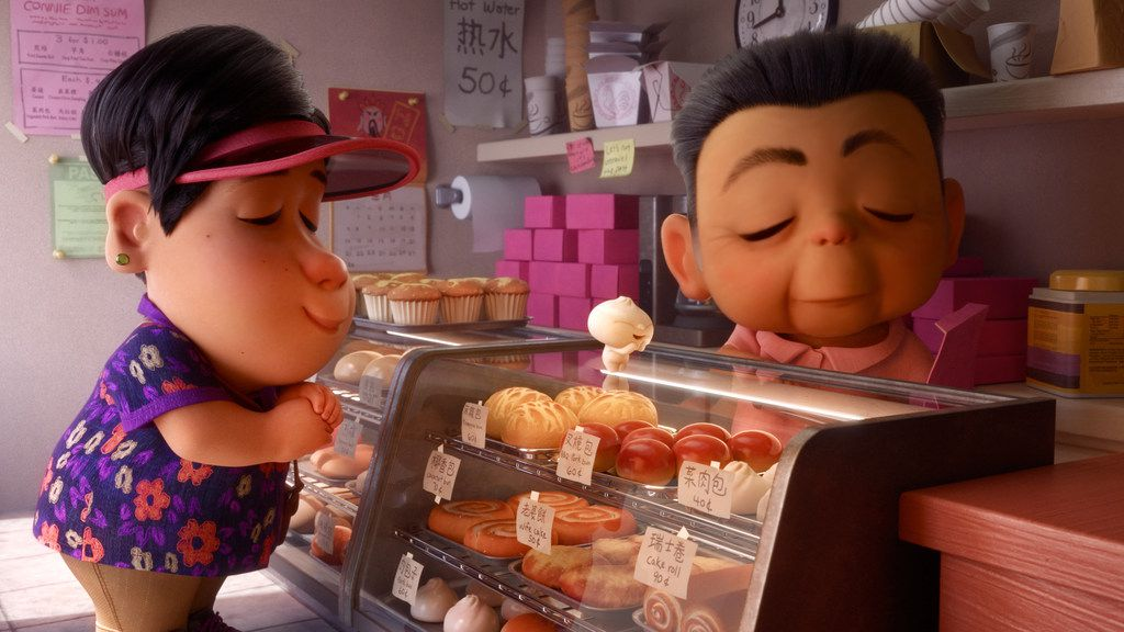 Bao is a short film about the relationship between an Asian mother and her Asian-American son.