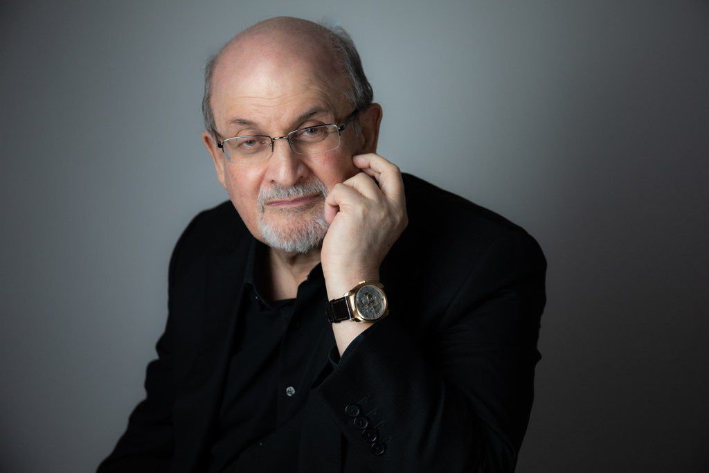 Author Salman Rushdie will kick off the new season of Arts & Letters Live at the Dallas Museum of Art with an appearance at Moody Performance Hall on Sept. 5, 2019.