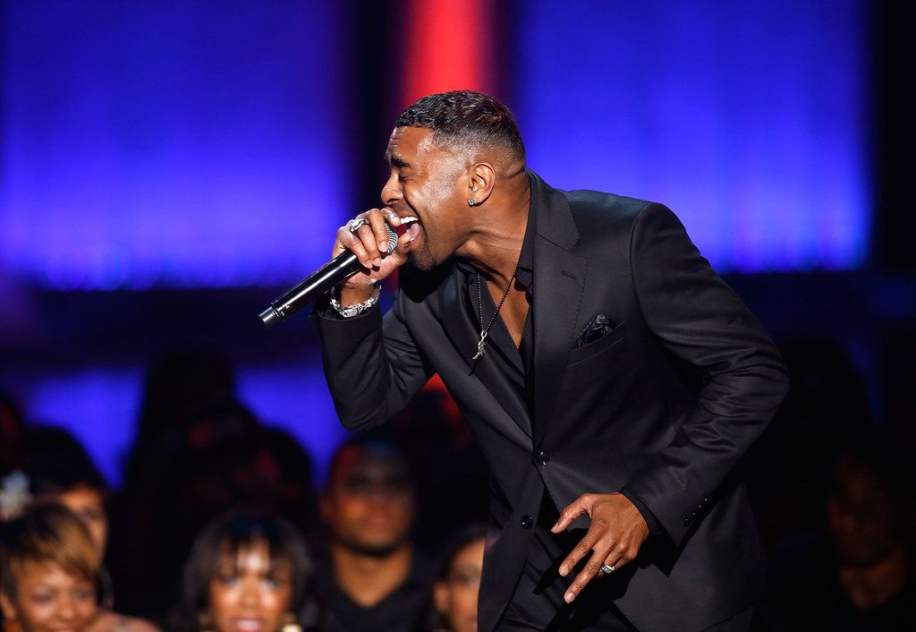 Ginuwine performs performs during the Soul Train Awards 2012 at PH Live at Planet Hollywood Resort & Casino on November 8, 2012, in Las Vegas. He's on the bill for the Valentine's Love Jam at the Music Hall at Fair Park on Saturday, Feb. 17.