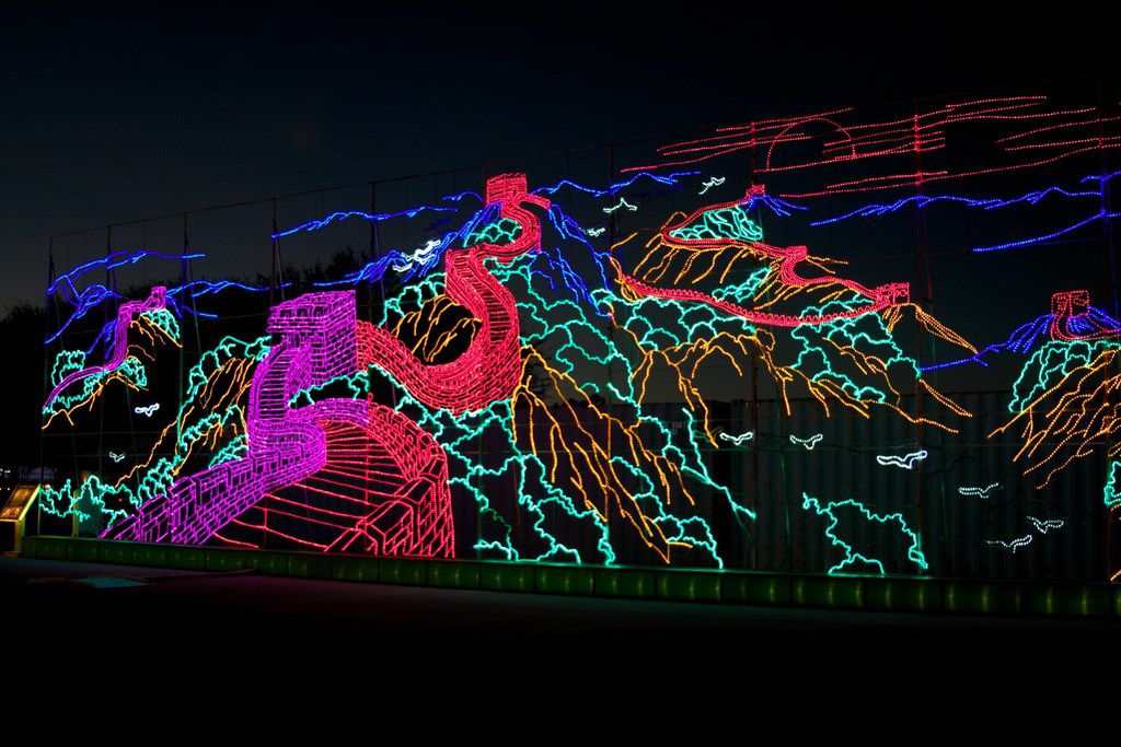 Magical Winter Lights will be on view at Lone Star Park.