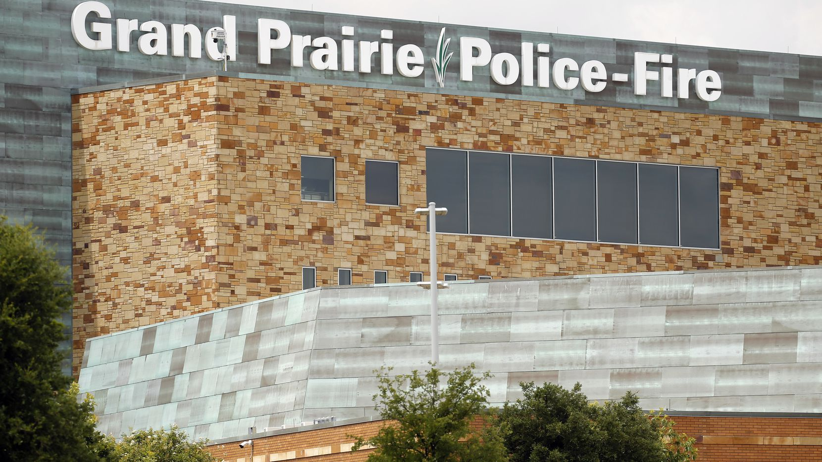 The Grand Prairie Police and Fire Departments administration building in the Epic Central park development along SH 161 in Grand Prairie, Texas, Thursday, June 25, 2020.
