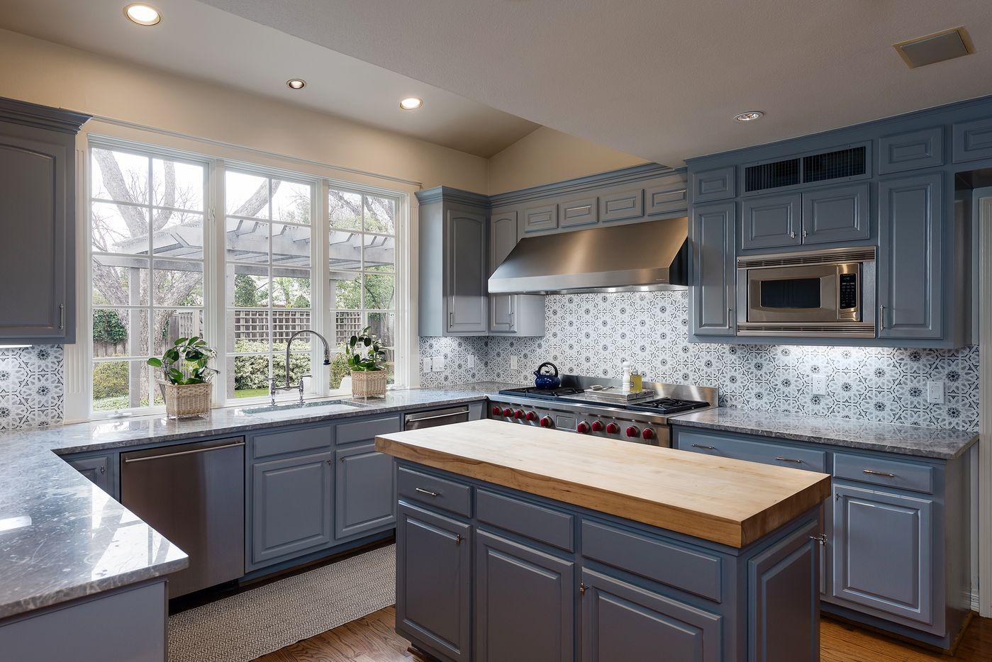 Kitchen at 5845 Lupton Drive.