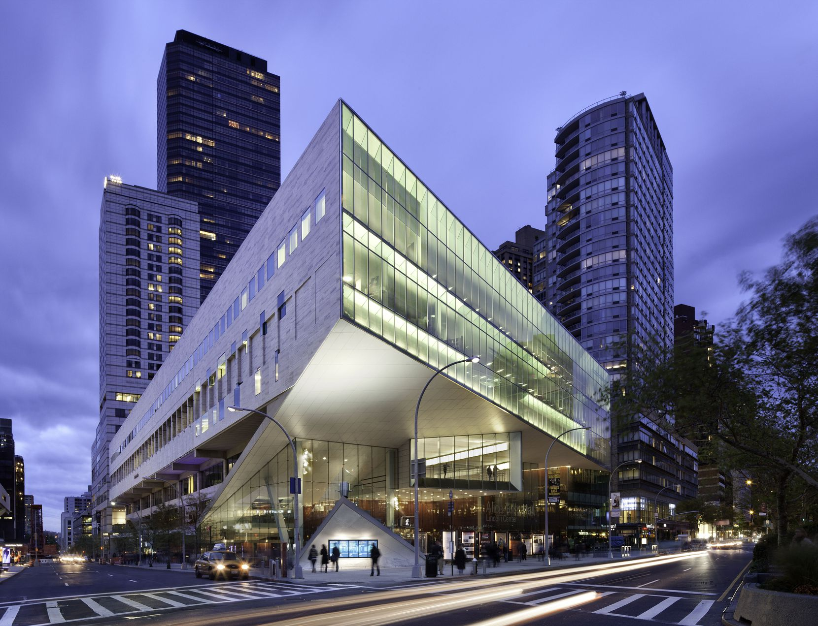The Julliard School in New York City where five Booker T. Washington High School for the Performing and Visual Arts students will attend in August.
