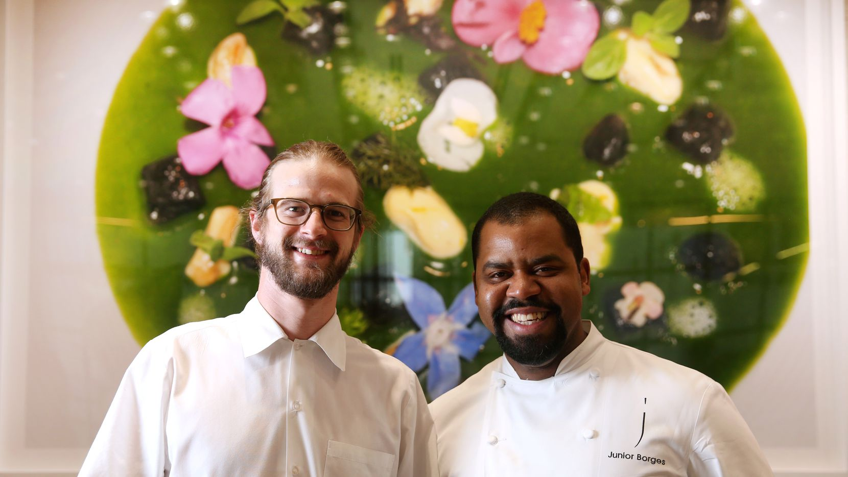Mirador executive chefs Josh Sutcliff (left) and Junior Borges