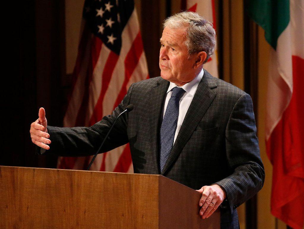 Former President George W. Bush (Jae S. Lee/Staff Photograph