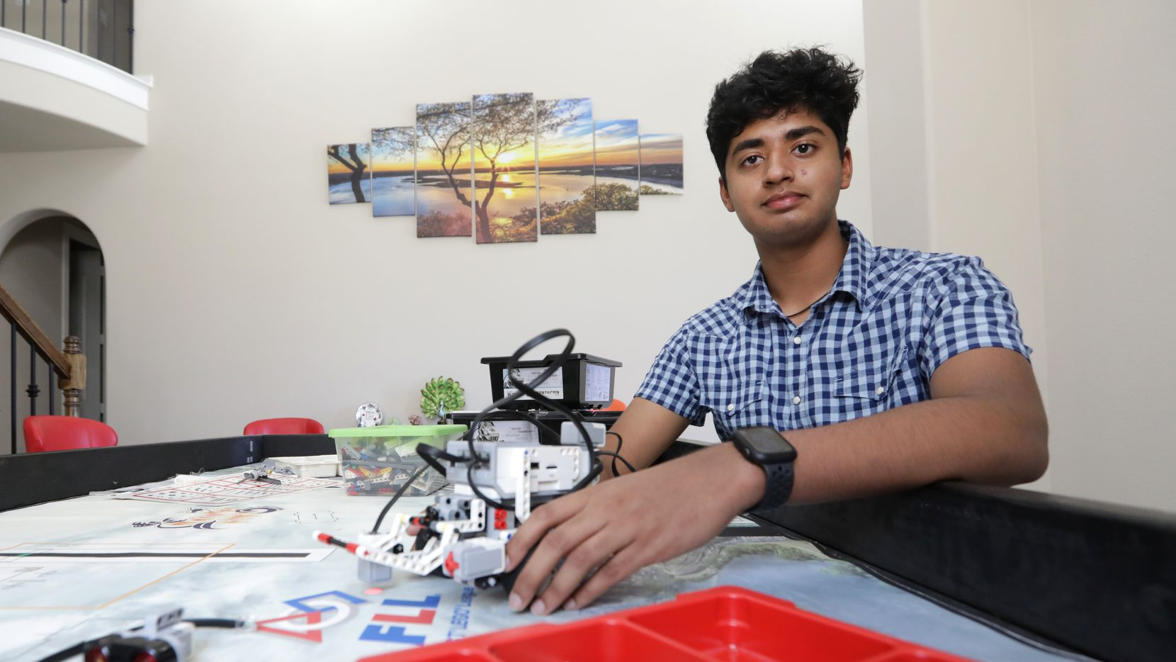Mihit Sai Garlanka, 17, founded the nonprofit Kids Within the Reach, which offers STEM-related camps and raises money and awareness to fight child hunger.