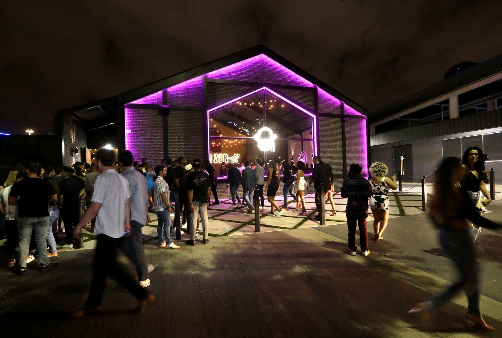 The new Citizen is much larger than the now-closed original Citizen nightclub in Uptown Dallas.
