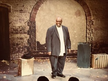 """Lonesome Blues"" co-writer Akin Babatundé starred as musician Blind Lemon Jefferson in the 2018 off-Broadway premiere of his and Alan Govenar's play about the Deep Ellum bluesman. Undermain Theatre is mounting a new production, with a new cast, as part of its 2021 virtual spring season."