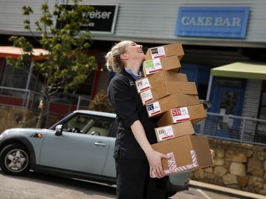 "During the coronavirus pandemic, chocolatier Kate Weiser has doubled her gas bill driving to Fort Worth twice a week. ""That's 3 hours out of my day each time, which might not seem like a big deal, but when you're also trying to juggle wearing all the other hats of running a small business with very few employees, it really adds up,"" she says."