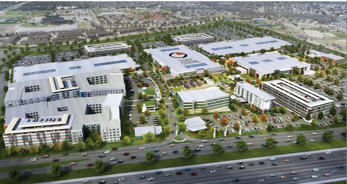 The 84-acre Legacy Central project on U.S. Highway 75 will include offices, apartments, retail and more.