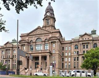 The Tarrant County Courthouse