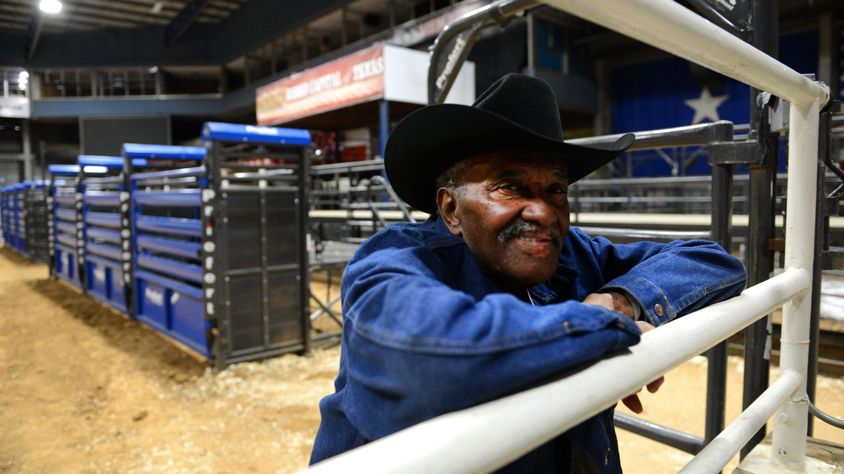 """Cleo Hearn said that """"before I got into it, they didn't let black cowboys in professional rodeos, so black cowboys started [their own]."""""""