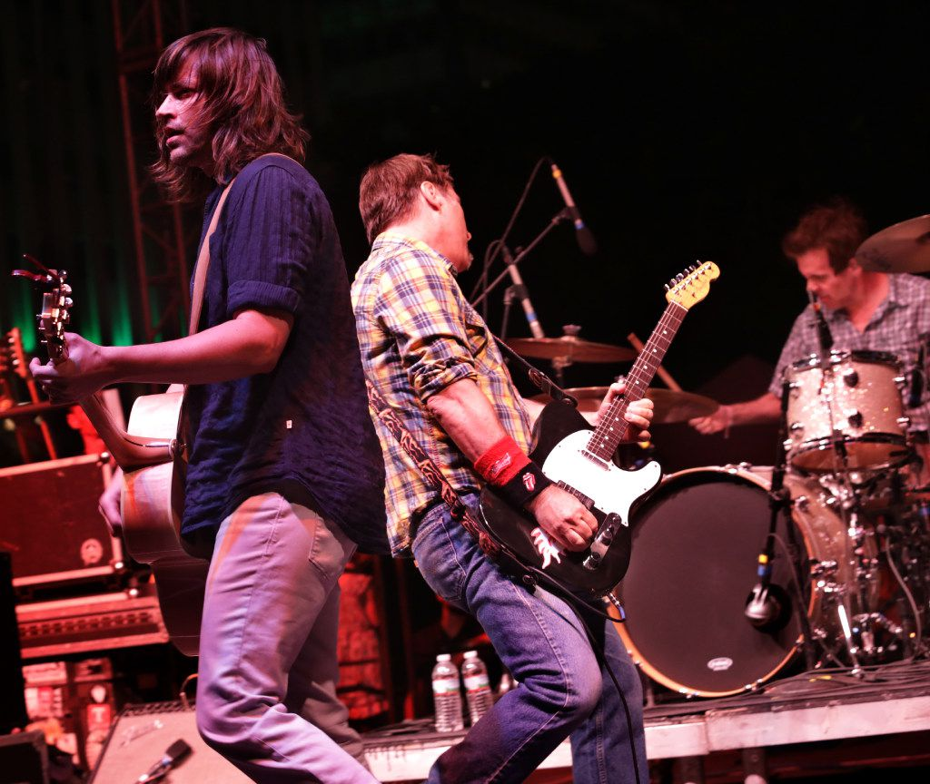 Old 97's perform during the Old97's County Fair at Main Street Garden in Dallas, TX, on Apr. 8, 2017. (Jason Janik/Special Contributor)