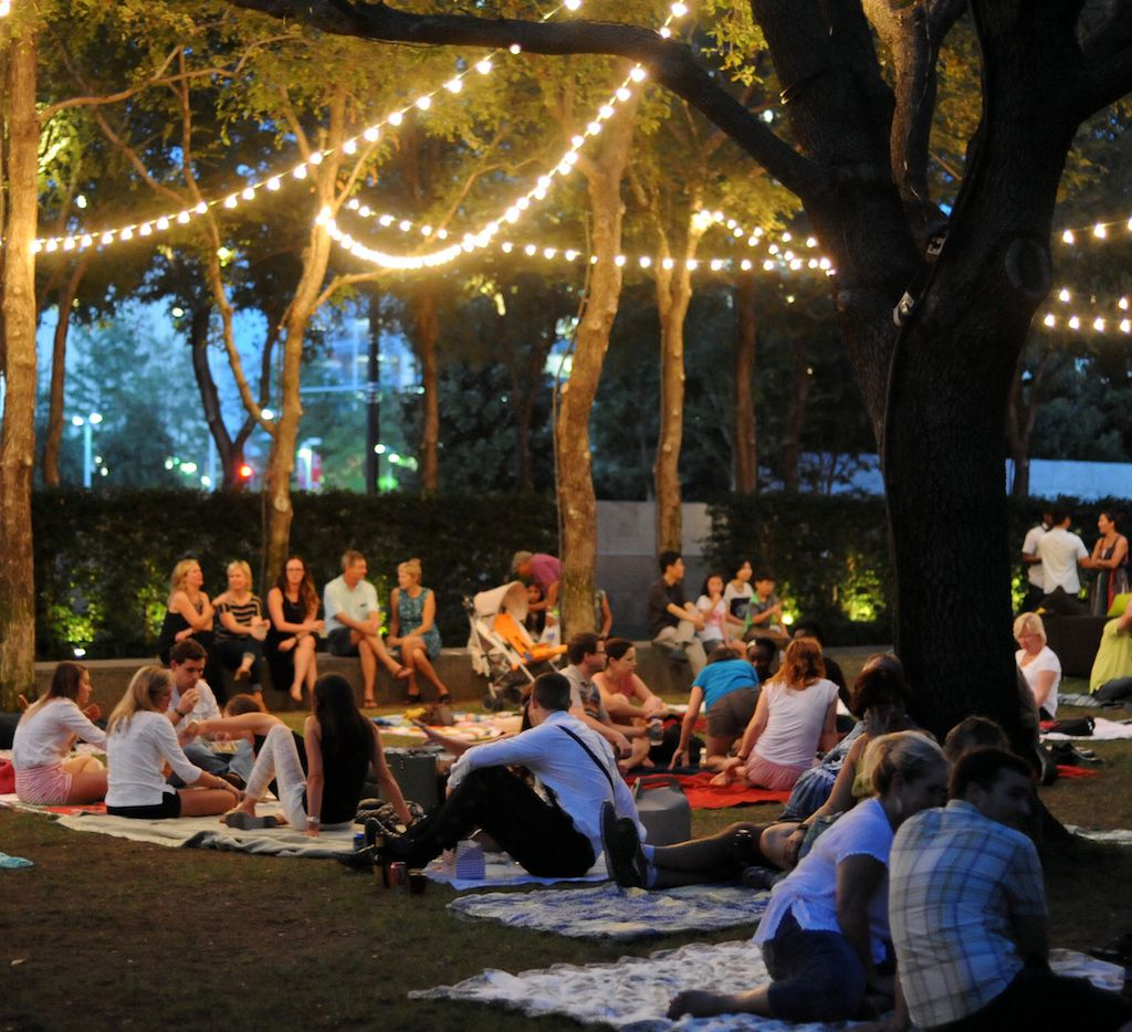'Til Midnight at the Nasher takes place in the Sculpture Garden.